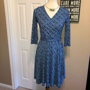 Nwot 41 Hawthorn Wrap look Dress size small 👗